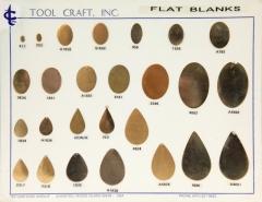 Oval Flat Blank1