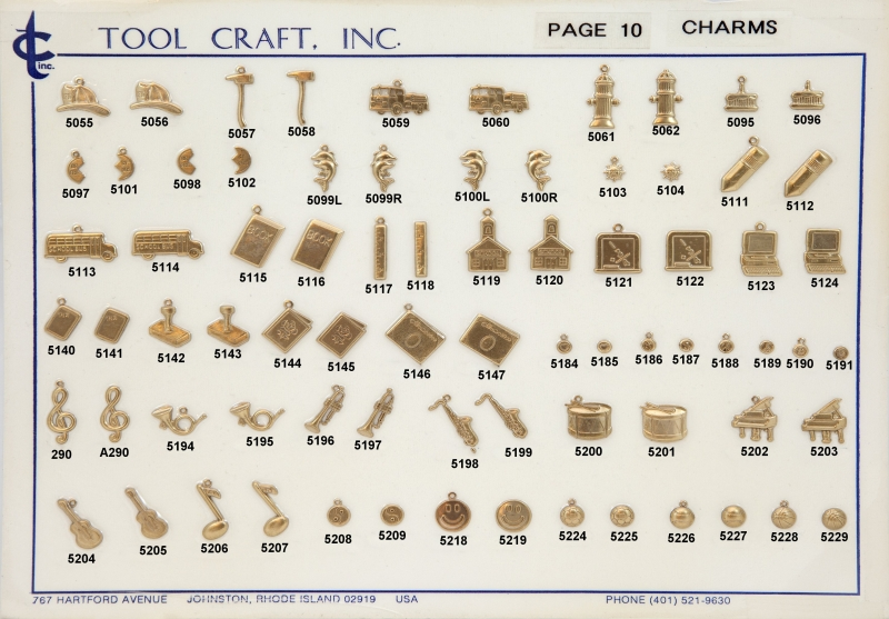 Brass Charms 10