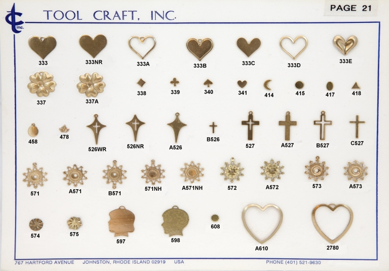 Brass Charms 21