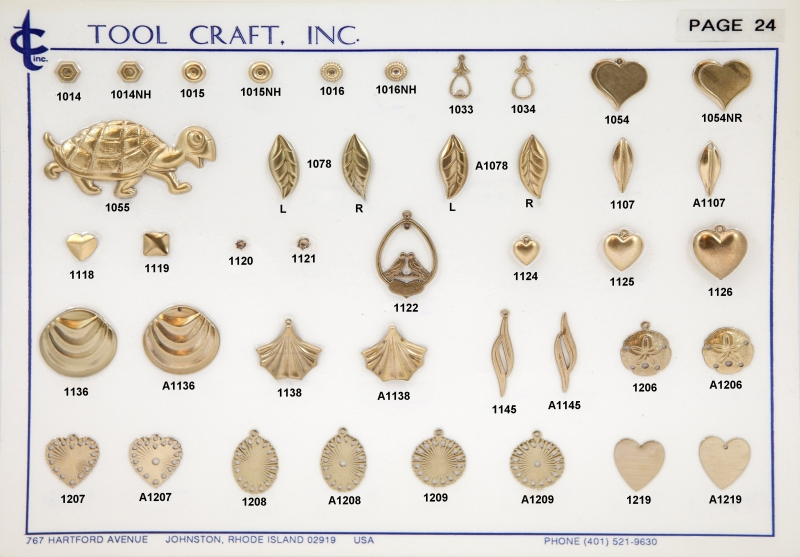 Brass Charms 24