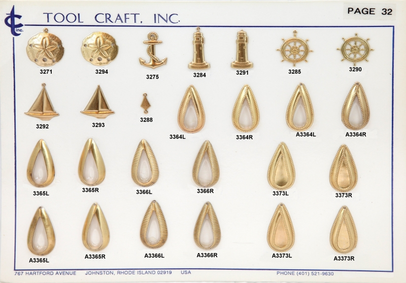 Brass Charms 32