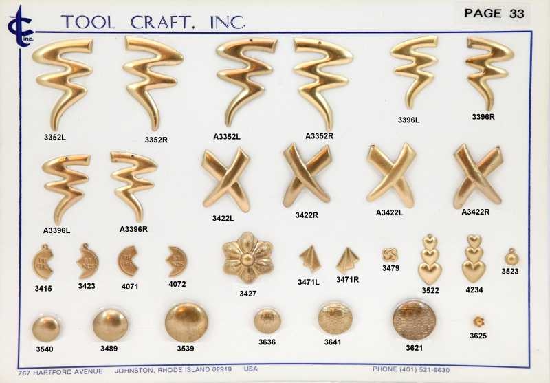 Brass Charms 33