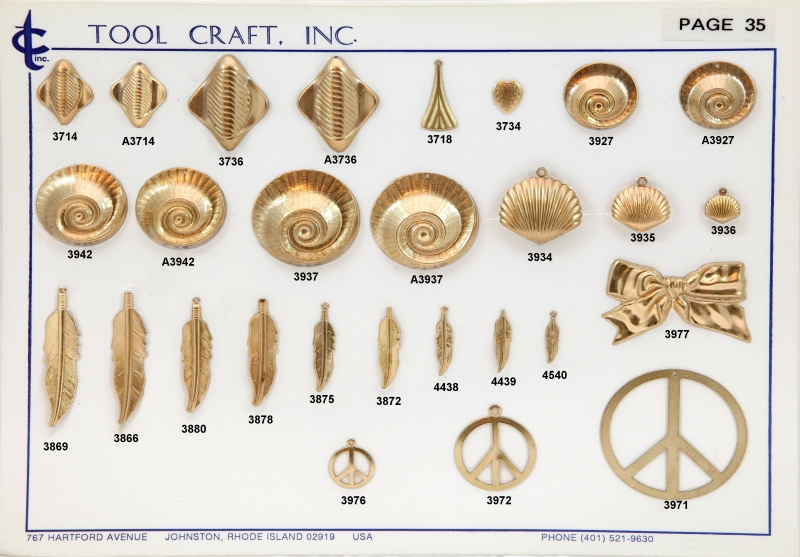 Brass Charms 35