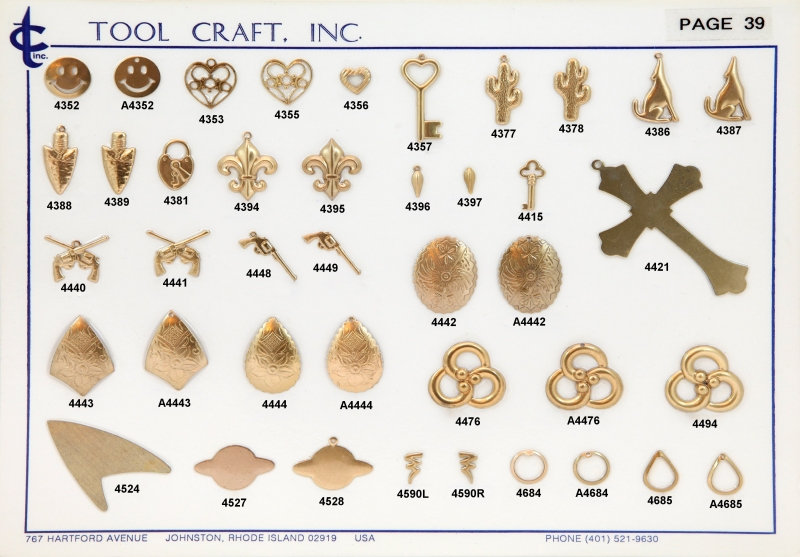Brass Charms 39