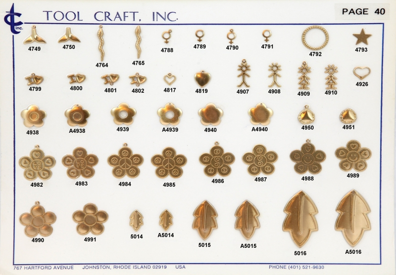Brass Charms 40