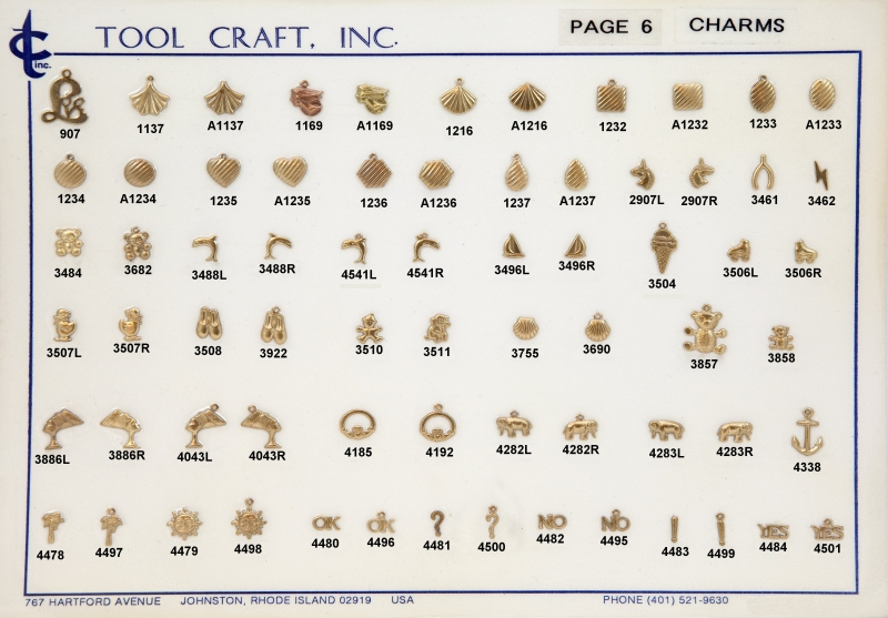 Small Brass Charms 6
