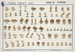 Brass Charms 10