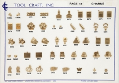 Brass Charms 12
