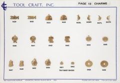 Brass Charms 13