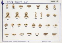Brass Charms 16