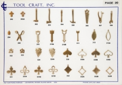 Brass Charms 20
