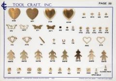 Brass Charms 22
