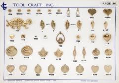 Brass Charms 24