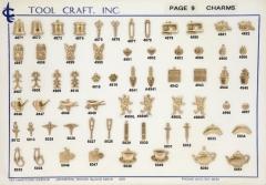 Brass Charms 9