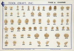 Small Brass Charms 8