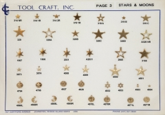 Stars & Moon Charms 3