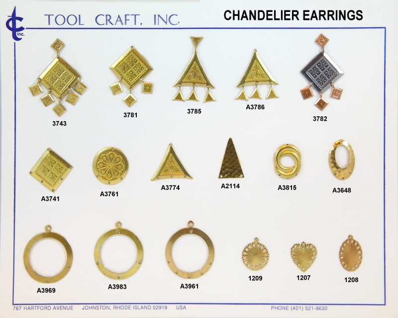 Chandelier earring 2