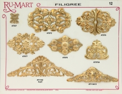 Victorian Filigree Stampings 12