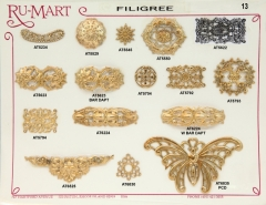 Victorian Filigree Stampings 13