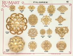 Victorian Filigree Stampings 15