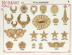 Victorian Filigree Stampings 6