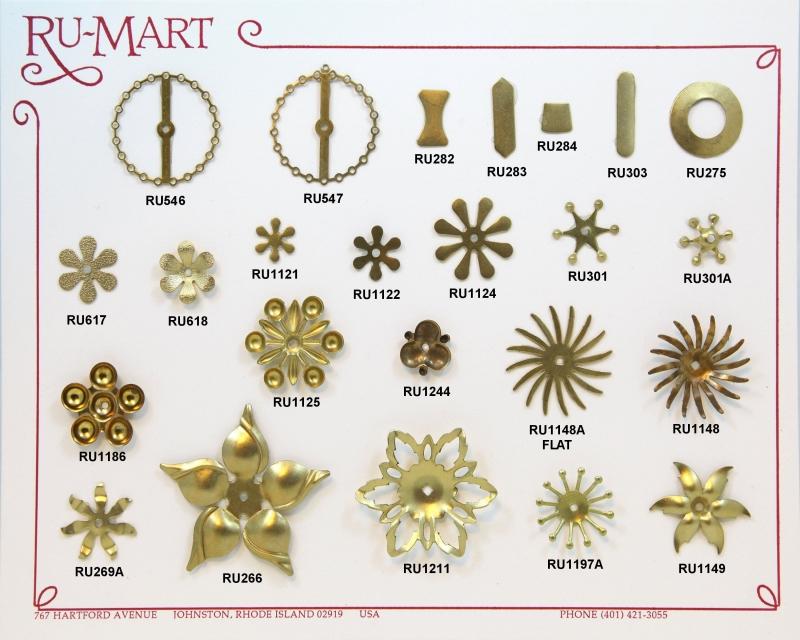Floral Rivet Components(2)
