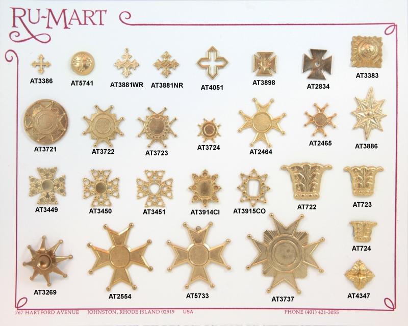 Medival badges crosses