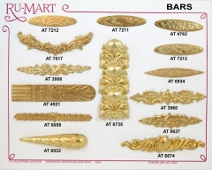 Decorative Bar Stampings