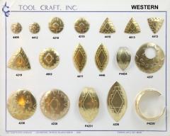 Indian motif stamping